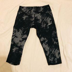 nike Pants - Nike Dri-Fit Capri Cropped Running Leggings #108